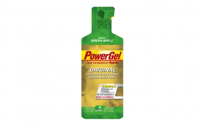 powerbar gel powergel original 41gr pomme verte