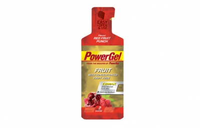 powerbar gel powergel fruit 41gr fruits rouges