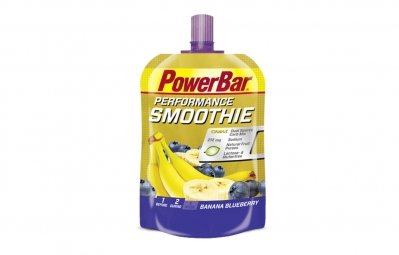 Gel Energétique Powerbar Powergel Smoothie 90gr Banane Myrtille