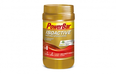 powerbar boisson energetique isoactive fruits rouges 600gr