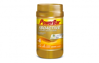 powerbar boisson energetique isoactive 600gr orange