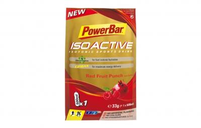 POWERBAR Boisson énergétique ISOACTIVE Fruits rouges 33gr