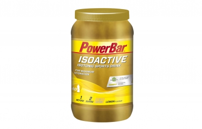 powerbar boisson energetique isoactive citron 1320gr