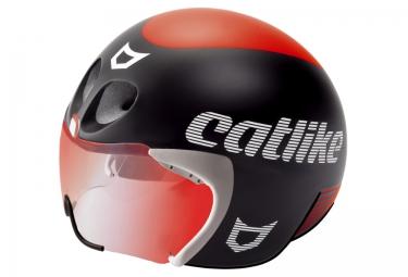 Casco Catlike Rapid Tri - Negro Rojo