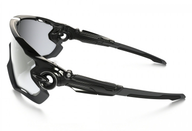 OAKLEY Sunglasses JAWBREAKER PHOTOCHROMIC Black/Clear Black Iridium Ref : OO9290-14