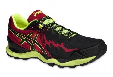 new concept b82f1 bec75 ASICS Shoes Gel FUJIENDURANCE PLASMAGARD Red Black Yellow