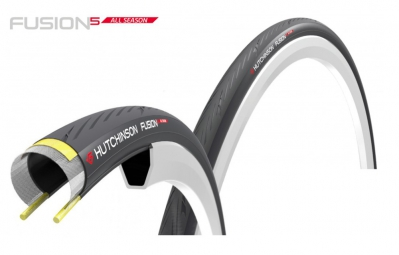 Hutchinson pneu fusion 5 all season 700 noir 28 mm
