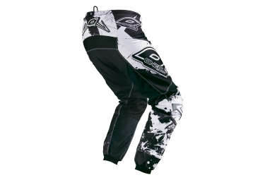 oneal 2015 pantalon element shocker noir blanc 34