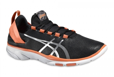 asics gel fit sana 2 noir orange 37 1 2