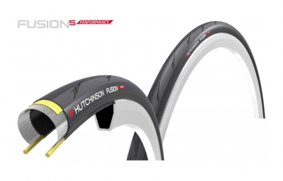 hutchinson pneu fusion 5 perf kevlar pro tech 700 noir 23 mm