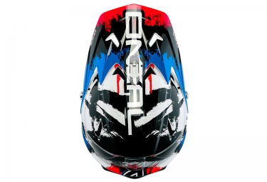casque integral oneal backflip fidlock dh rl2 shocker 2016 noir bleu rouge m 57 58 cm