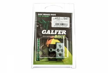GALFER Plaquettes SHIMANO XTR/XT/SLX Organique PRO G1554T