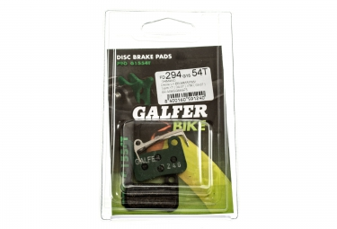 GALFER Plaquettes SHIMANO DEORE LX/SAINT XT/XTR/GIANT Organique PRO G1554T