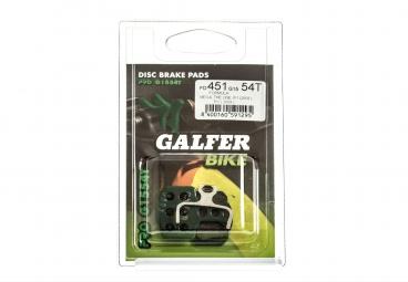 GALFER Plaquettes FORMULA MEGA/THE ONE/R0/R1/RX/RR1/T1/C1 Organique PRO G1554T