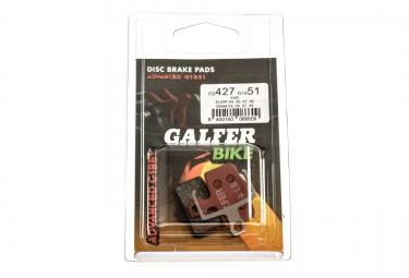 GALFER Plaquettes AVID/SRAM Métallique ADVANCED G1851