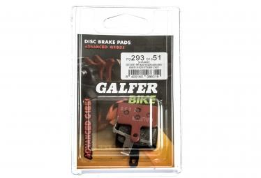 GALFER SHIMANO DEORE / TEKTRO Metallic ADVANCED G1851 Bremsbeläge