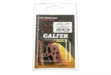 Pastiglie GALFER SHIMANO XTR 985 / XT 785 / SLX 666 Metallic ADVANCED G1851