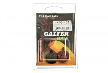 GALFER Plaquettes HAYES MX2/MX3/MX4/MX5/GX2/SOLE Métallique ADVANCED G1851