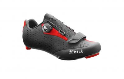 chaussures route fizik r5 uomo noir rouge 42