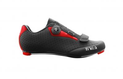 Chaussures Route FIZIK R5 UOMO Noir/Rouge
