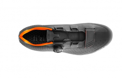 chaussures route fizik r5 uomo 2016 anthracite orange 43