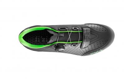 chaussures route fizik r3b uomo noir vert 41