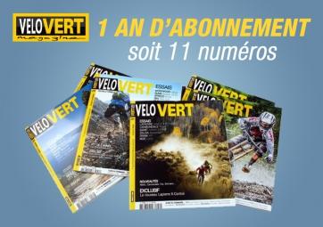 Abonnement 1 an à Velovert. Livraison EUROPE