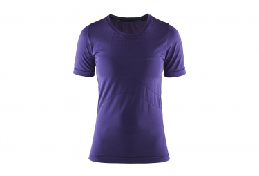CRAFT Maillot Manches Courtes STAY COOL Violet Femme