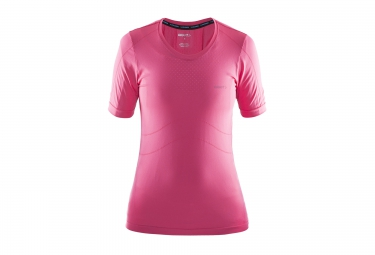 CRAFT STAY COOL Short Sleeves Jersey Pink Women