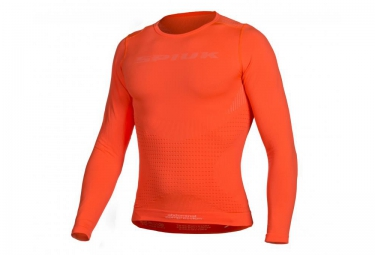 SPIUK 2016 Maillot TOP TEN Orange Manches Longues