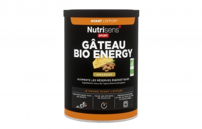 NUTRISENS Energy cake BIO 400g Almonds