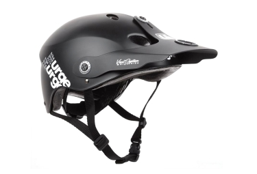 Casque Enfant URGE ALL-IN Noir L-XL (55-60 cm)