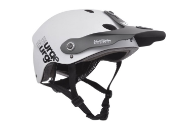 Casque enfant urge all in blanc xs s 48 50 cm