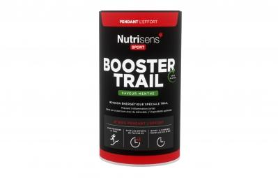 nutrisens boisson energetique booster trail pot de 500g menthe