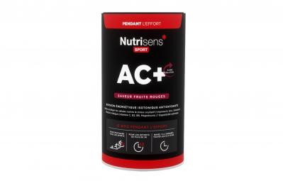NUTRISENS Boisson énergétique AC+ Pot de 500g Fruits rouges