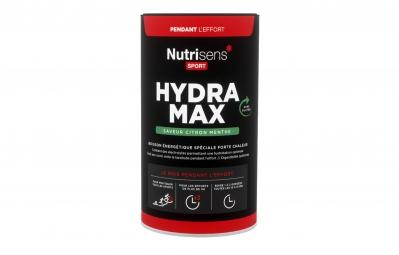 NUTRISENS Bebida energética HYDRA MAX 560g Lemon Mint
