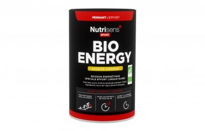 Bebida energética NUTRISENS BIO ENERGY 480g Naranja