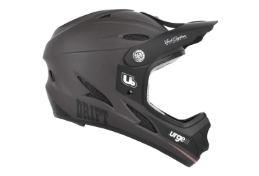 casque integral urge drift noir mat xs 53 54 cm