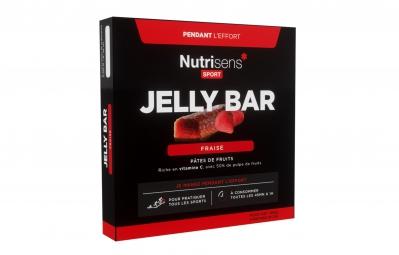 nutrisens pate de fruits jelly bar 4 x 25g fraise