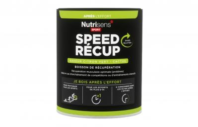 NUTRISENS Boisson de récupération SPEED RECUP Pot de 400g Citron vert - Cactus
