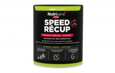NUTRISENS Boisson de récupération SPEED RECUP Pot de 400g Cerise - Cassis