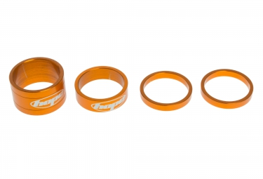 Hope kit entretoises de direction space doctor 1 1 8 alu orange 5 10 20 mm