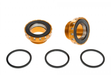Hope MTB Stainless Steel Bottom Bracket BB30 68/73mm Orange