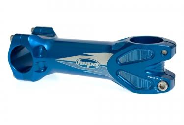 Attacco manubrio HOPE XC 0° 25.4 mm Blu
