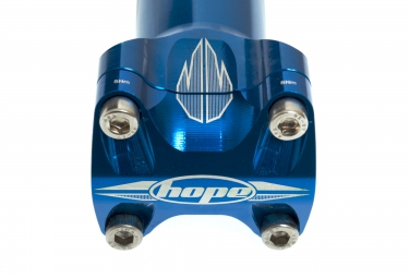 HOPE Potence XC 0° 25.4mm Bleu
