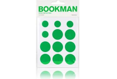 bookman stickers reflechissant vert