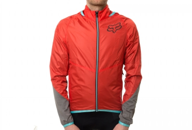 fox veste diffuse rouge s