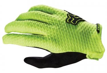 FOX Paire de gants ATTACK Jaune