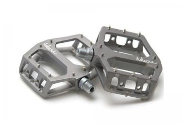 DELUXE Pédales F-LITE Aluminium Gris Titane