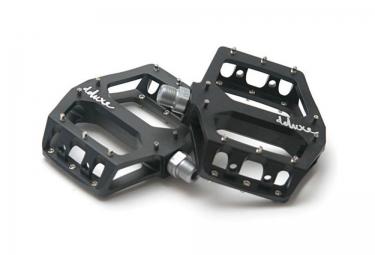 DELUXE Pédales F-LITE Aluminium Noir